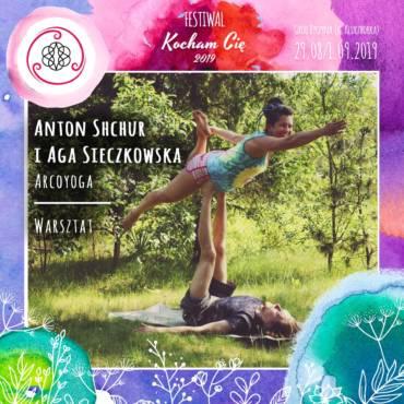 Anton Shchur i Aga Sieczkowska